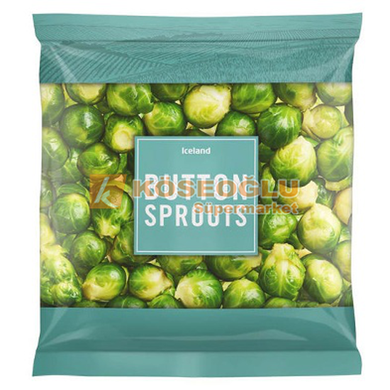 ICELAND BUTTON SPROUTS 900 GR resmi